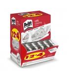 Box de 12 recharges + 4 gratuites pour correcteur PRITT - 4,2 mm x 14 m