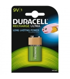 Pile rechargeable DURACELL - HR9V - 9 volts