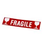 """Boîte de 100 étiquettes auto-collantes APLI 119208 - """"Fragile"""""""