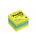 Mini-cube POST-IT - 51 x 51 mm 400 feuilles multicolore rêve