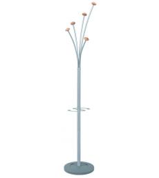 Portemanteaux ALBA - Festy - 5 patères - métal/bois