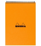 Bloc-notes spirale RHODIA - 80 pages A4 - 5 x 5 - 80g