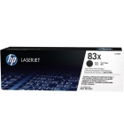 Cartouche d'impression laser noire HP 2200 pages - CF283X - 83X