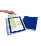 Classeur polypro personnalisable ELBA Flexiview - dos 4 cm - A4+