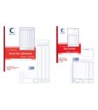 Autocopiants imprimés ELVE - 2125 - factures - 50 dupli - 21 x 29,7 cm