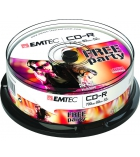 Tour 25 CD-R 80 min/700 Mo EMTEC - 52x