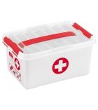 Boîte à pharmacie rangement - 6 litres