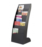 Présentoir 1 face EASY DISPLAYS - 8 cases - pour A3
