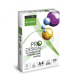 Ramette de papier 250 feuilles INTERNATIONAL PAPER Pro Design - A4 - 250g