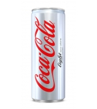 Pack de 24 canettes slim de COCA COLA Light - 33 cl