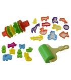 Set de modelage : moules, emporte-pièces, rouleaux