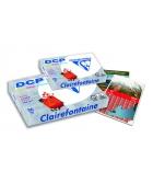 Carton de 4 rames de 500 feuilles de papier CLAIREFONTAINE DCP 1801 - A3 80g - blanc