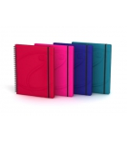 Cahier spirale OXFORD Beauty daybook - 120 pages - 16,8 x 21cm - ligné 6 mm