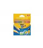 Pochette de 12 crayons de couleur - BIC KIDS - Tropicolor