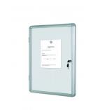 Vitrine d'intérieur BI-OFFICE - enclore métal - 4 feuilles A4