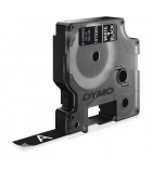 Ruban DYMO D1 haute performance - 12 mm x 3 m - blanc/noir