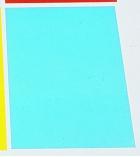 Paquet de 100 plats de couvertures transparents couleur - A4 - épaisseur 20/100