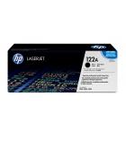 Cartouche d'impression laser couleur noir HP 5000 pages - Q3960A - 122A