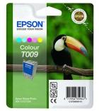 """Cartouche d'impression """"toucan"""" jet d'encre 5 couleurs EPSON 330 pages - C13T009401 - T009"""
