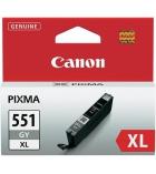 Cartouche d'impression jet d'encre grise CANON 680 pages - CLI-551GYXL
