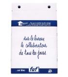 Recharge de bloc de bureau FAF uni n°3 EXACOMPTA - 115 x 185 mm