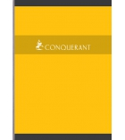 Cahier brochure CONQUERANT - 192 pages - 17 x 22 cm - 5 x 5