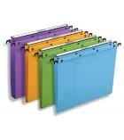Paquet de 25 dossiers suspendus pour tiroir L'OBLIQUE  AZO Ultimate - fond 15 mm - orange