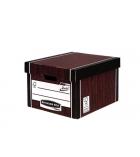 Lot de 10 containers classiques FELLOWES - bois premium 725