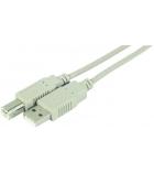 Rallonge USB 2.0 AB M/M - 5 mètres