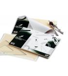 Bloc de 50 feuilles de papier millimétré 21 x 29,7 cm