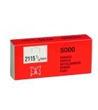 Boîte de 5000 agrafes - type STCR 2115