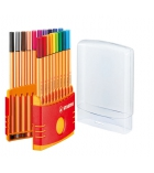 Etui de 20 feutres STABILO - Colorparade point 88 - pointe fine - assortiment