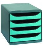 Module de classement EXACOMPTA Big-box - 4 tiroirs