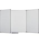 Tableau triptyque - 120 x 400 cm - blanc