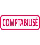"""Tampon TRODAT- X printy - encrage automatique """"comptabilisé"""""""