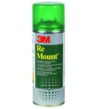 Aérosol colle repositionnable 3M - Remount - 400 ml