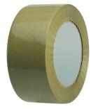 Paquet de 6 adhésifs en PVC havane - 50 mm x 100 m