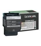 Cartouche d'impression laser couleur noir LEXMARK 2500 pages - C540H1KG