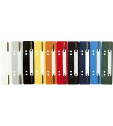 Boîte de 25 attaches à lamelles perforées flexi