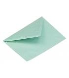 Boîte de 500 enveloppes administratives - 114 x 162 mm - sans fenêtre - 70 g - bleu