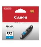 Cartouche d'impression jet d'encre cyan CANON 660 pages - CLI-551C