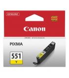 Cartouche d'impression jet d'encre jaune CANON 660 pages - CLI-551Y