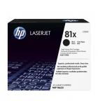 Cartouche d'impression laser noire HP 25000 pages - CF281X - 81X