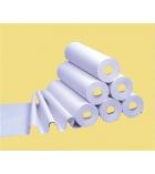 Drap d'examen carton de 9 rouleaux Ecolabel - ouate blanche - 135 feuilles - 50 x 37 cm