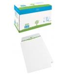 Boîte de 250 pochettes auto-adhésives extra blanc LA COURONNE - 229 x 324 mm - sans fenêtre - 90 g