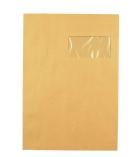 Boîte de 250 pochettes auto-adhésives kraft LA COURONNE - 229 x 324 mm - fenêtre 110 x 50 - 90 g