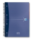 Cahier spirale OXFORD European Book - perforé 4 trous - 240 pages - A4+ - ligné 7 mm