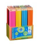 Boîte de 144 crayons de couleur - 18 cm
