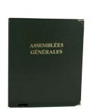 Reliure Assemblées Générales - 32 x 26 cm