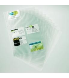 Sachet de 10 pochettes de porte-cartes DURABLE Visifix Centium A4 - 25,5 x 14,5 cm